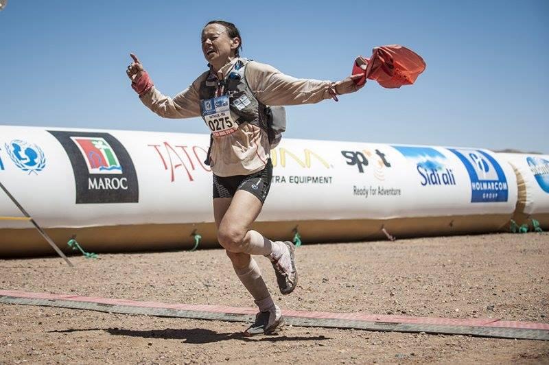 Nathalie Mauclair, athlète de haut niveau d'ultratrail et conférencier sportif sur la motivation et le dépassement de soi en entreprise et dans le sport, au sein de l'équipe WeChamp