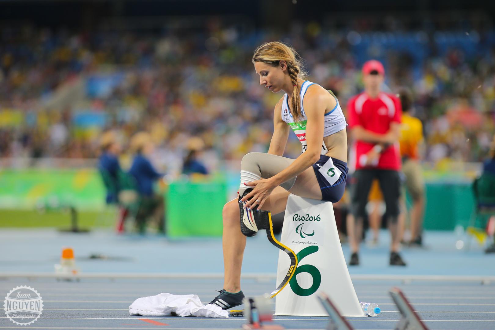 WeChamp entreprise Marie Amélie Le Fur athlete haut niveau athlétisme handisport conference handicap et semaine du handicap