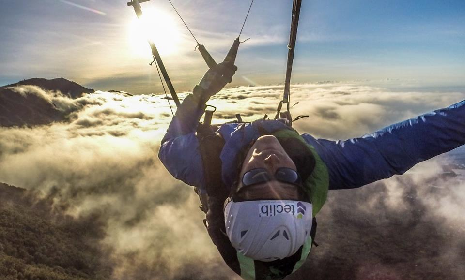 Wechamp athlete de haut niveau entreprise activité incentive parapente acrobatique François Ragolski sport lyon