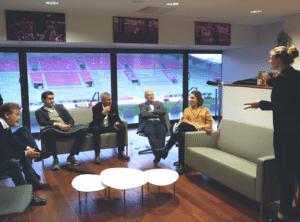 Conférence astrid guyart athlète de haut niveau wechamp en entreprise