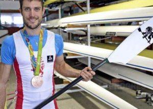 Franck Solforosi médaillé olympique d'aviron et conférencier sportif