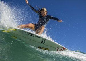 Pauline Ado athlète haut niveau surf wechamp entreprise conférence