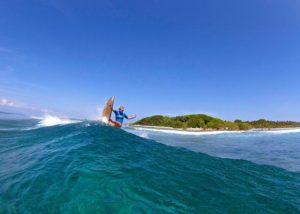 Emmanuelle joly surf wechamp entreprise athlète haut niveau incentive team building évenement public