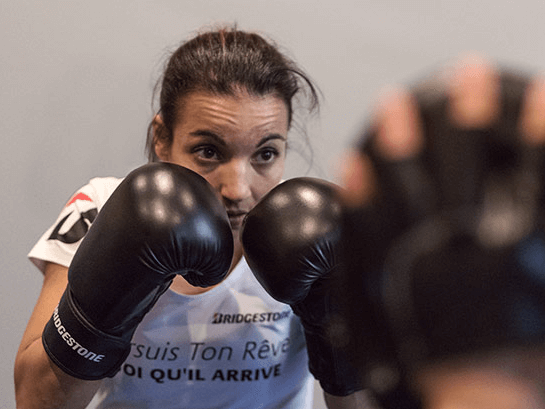 Sarah Ourahmoune Conférencière et Boxeuse