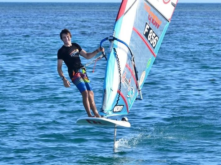 Thomas Goyard athlète de haut niveau windsurf wechamp-entreprise incentive event public team building