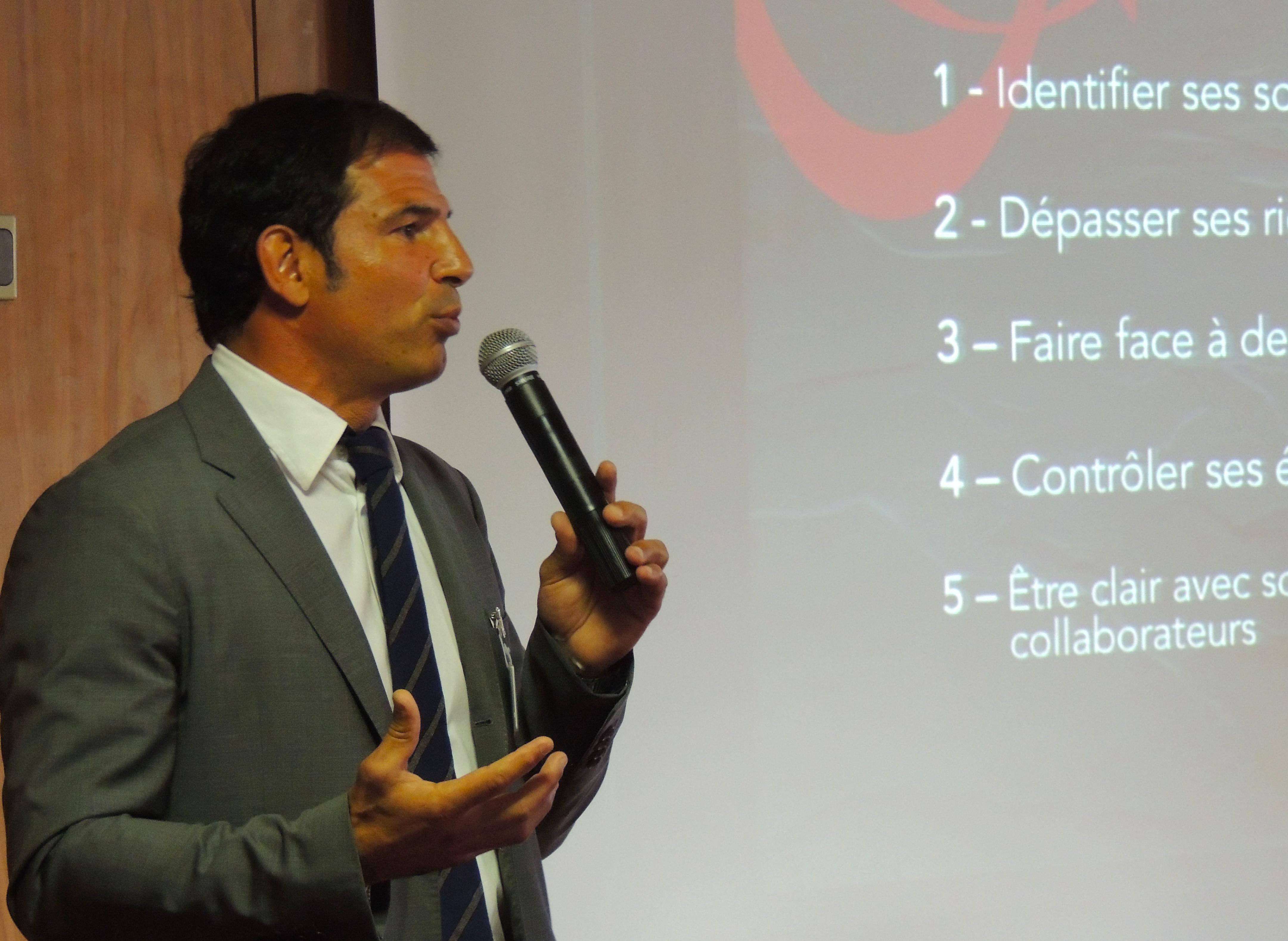 Marc Lièvremont CONFÉRENCIER SPORTIF esprit d'équipe WECHAMP