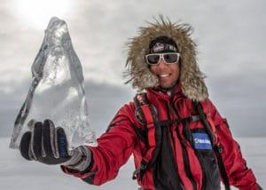 Eric Larsen, explorateur et aventurier, eric larsen fait désormais partit de l'équipe Wechamp Entreprise en tant que conférencier aventurier