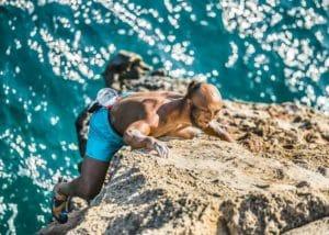 philippe ribière athlète de haut niveau handisport d'escalade et conférencier sportif