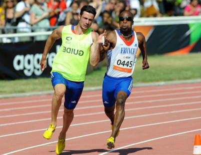 Tresor Gauthier Makunda conférencier sportif handisport, semaine du handicap