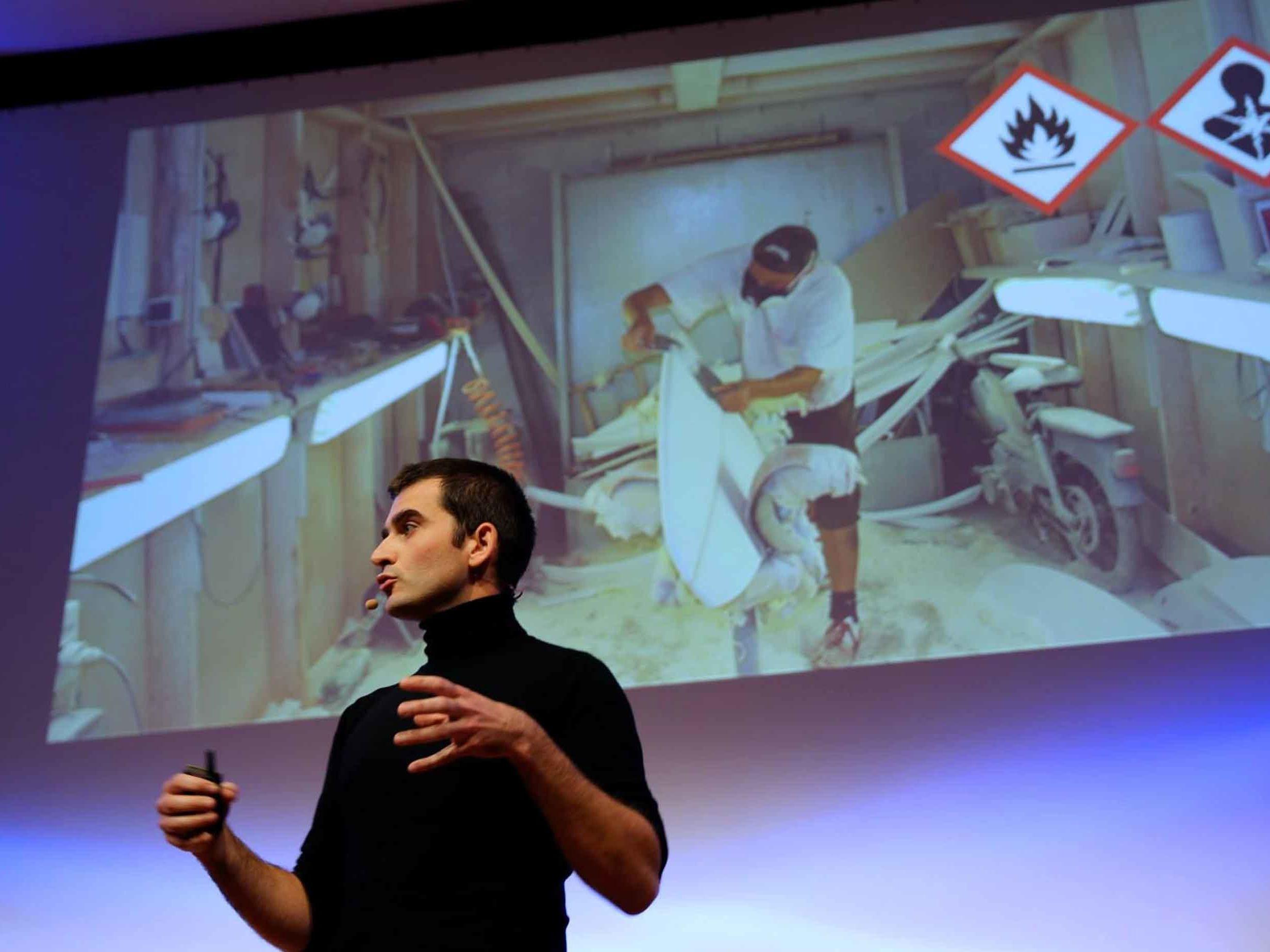 Pierre Pomiers est un ingénieur et fondateur de la startup NOTOX, son profil de conférencier sur WeChamp