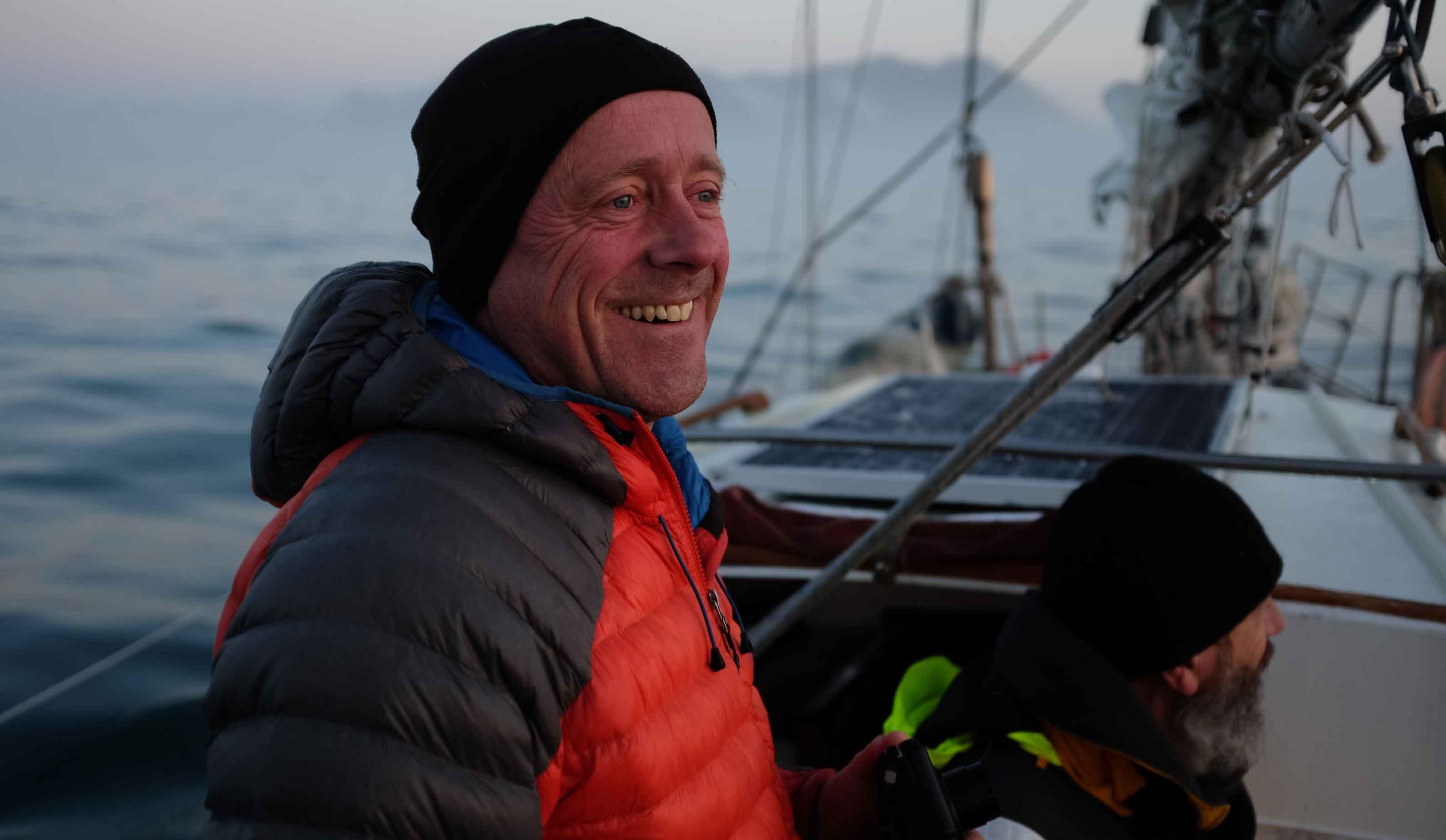 Simon Yates est un alpiniste anglais, et conférencier sportif pour WeChamp Entreprise