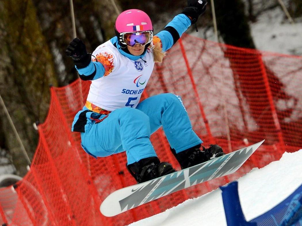 Cécile Hernandez Snowboard conférencier sportif handicap WeChamp
