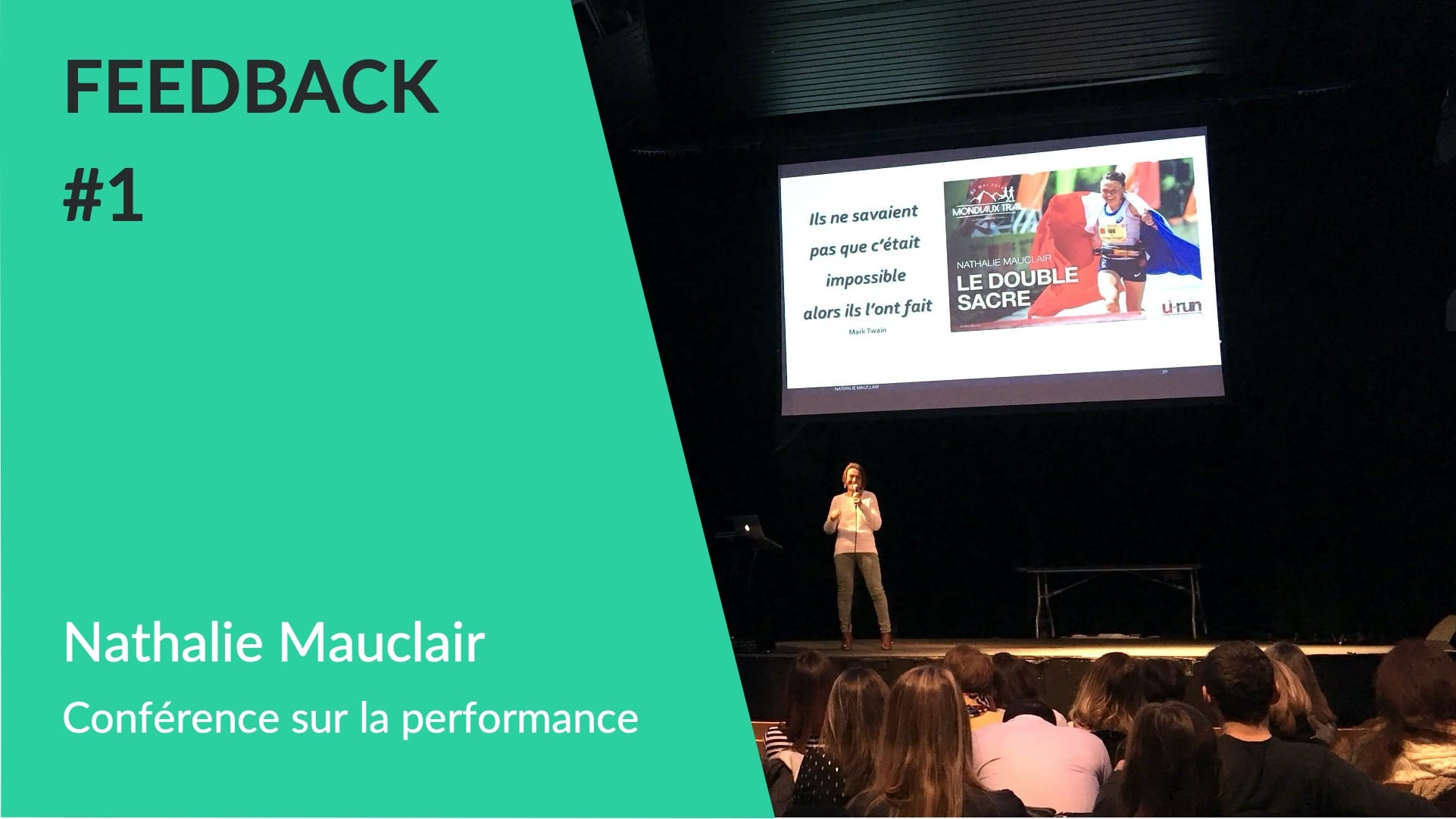 Feedback client WeChamp - Conférence Belambra club - Nathalie Mauclair