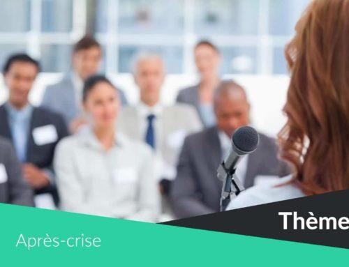 Après-crise sanitaire : 5 idées de thèmes de conférences