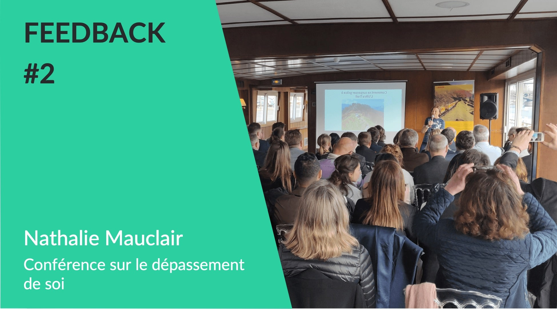 Conférence dépassement de soi - Conférencier sportif Nathalie Mauclair