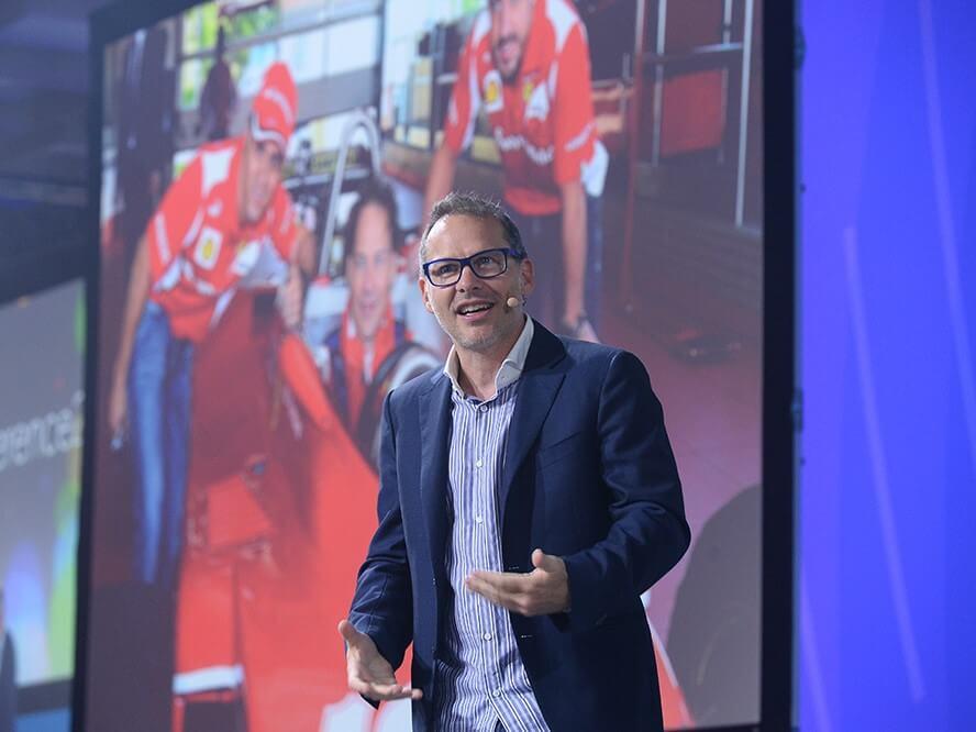 Jacques Villeneuve WeChamp Conférencier sportif