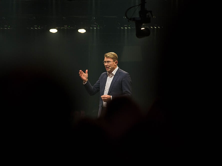 Mika Hakkinen WeChamp conférencier sportif