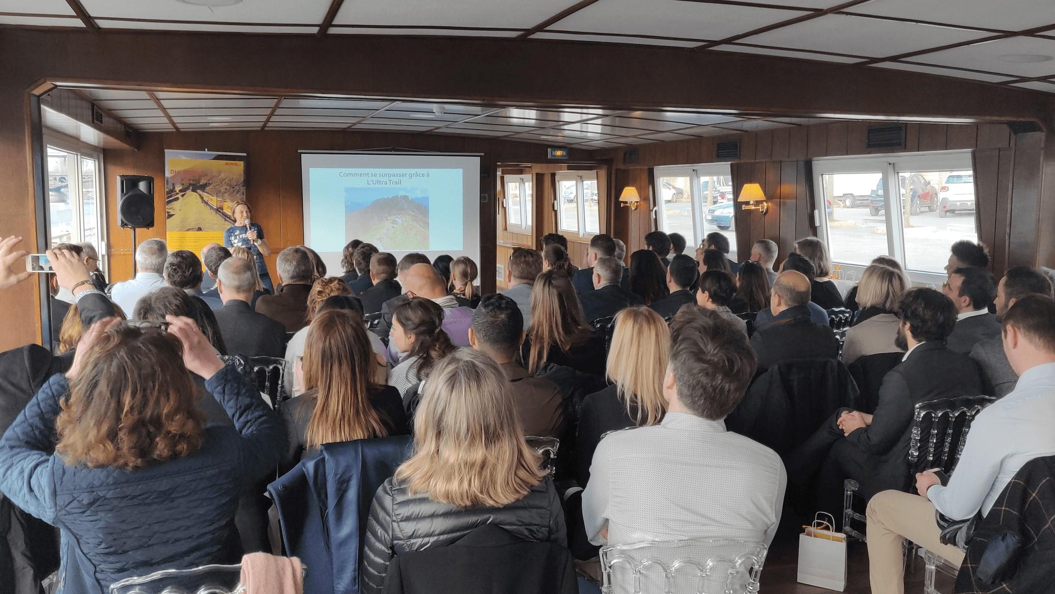 WeChamp intégrer une conférence à une séminaire