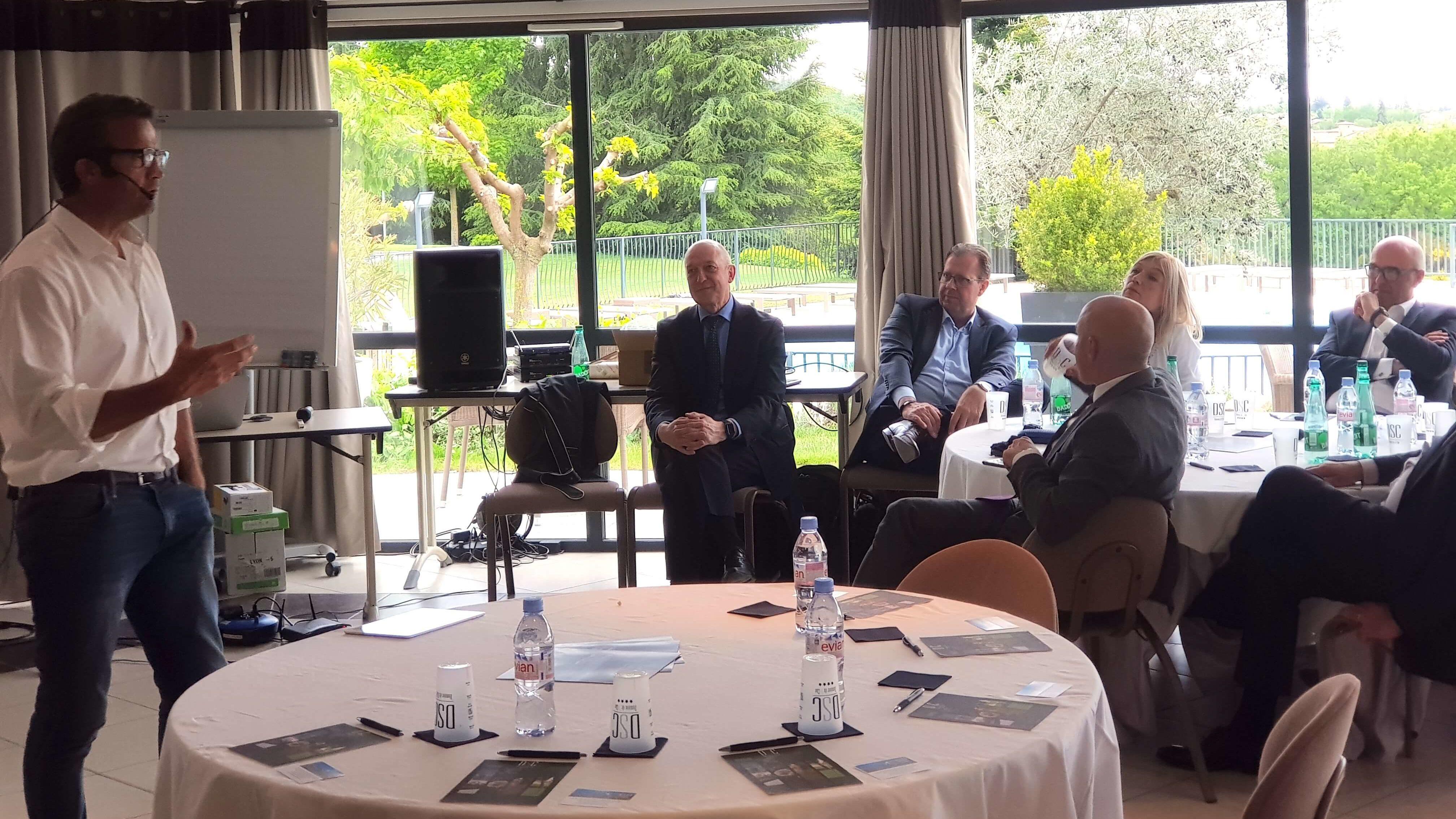 Fabien Galthié conférence conduite du changement et performance caisse d'Epargne