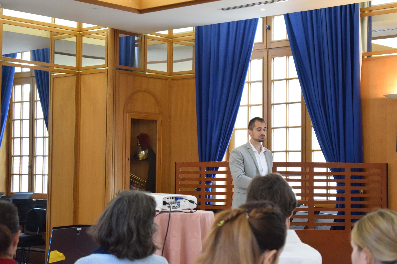 Conférence Gestion du stress Pierre henri chuet