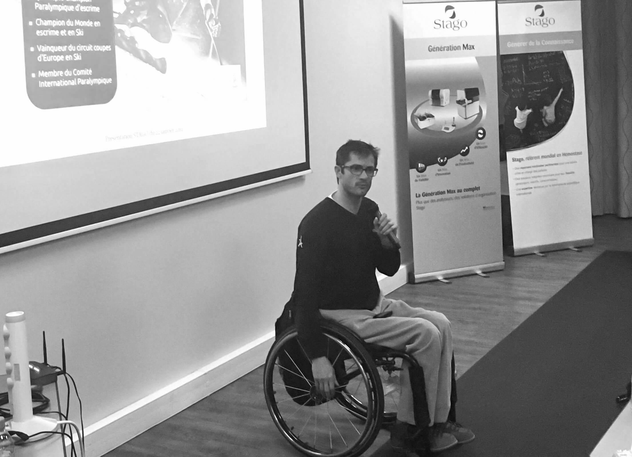 Conférence Handicap Cyril moré