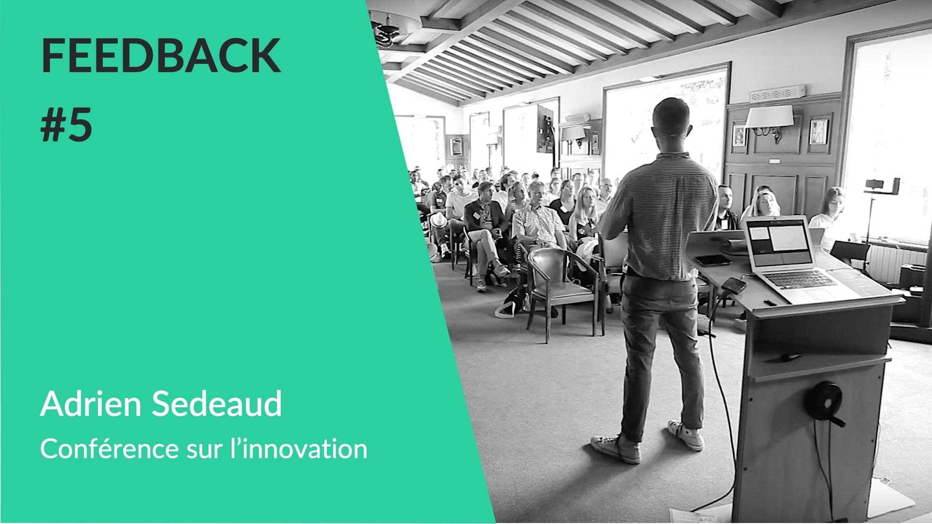 Conférence sur l'innovation dans le sport avec Bertrand Nivard conférencier sportif et data scientist