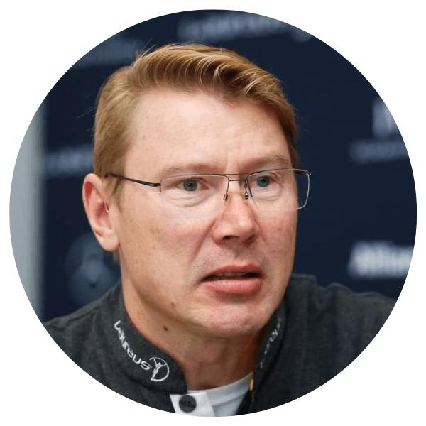 Mika Hakkinen conférencier WeChamp