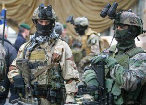Conférenciers Militaire forces spéciales