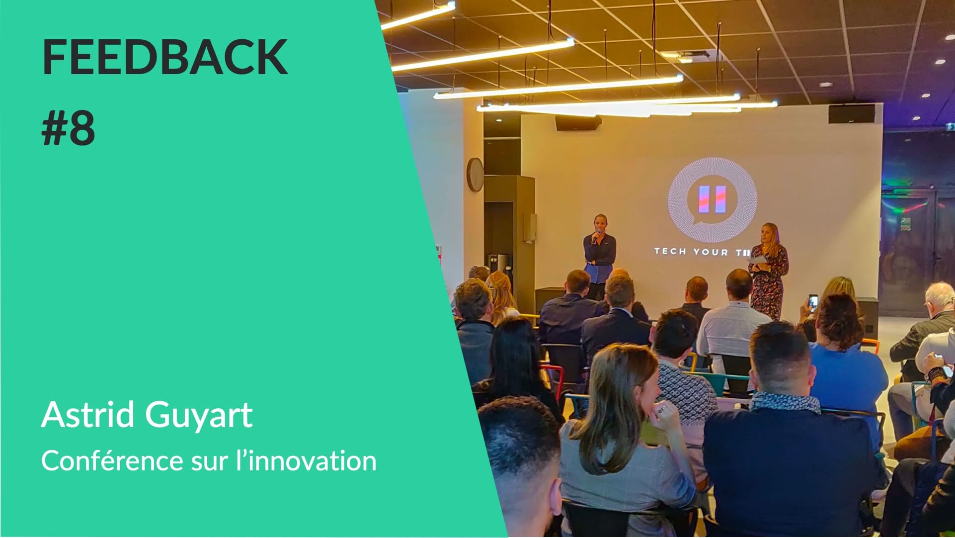 Feedback - Conference innovation manageriale avec Astrid Guyart