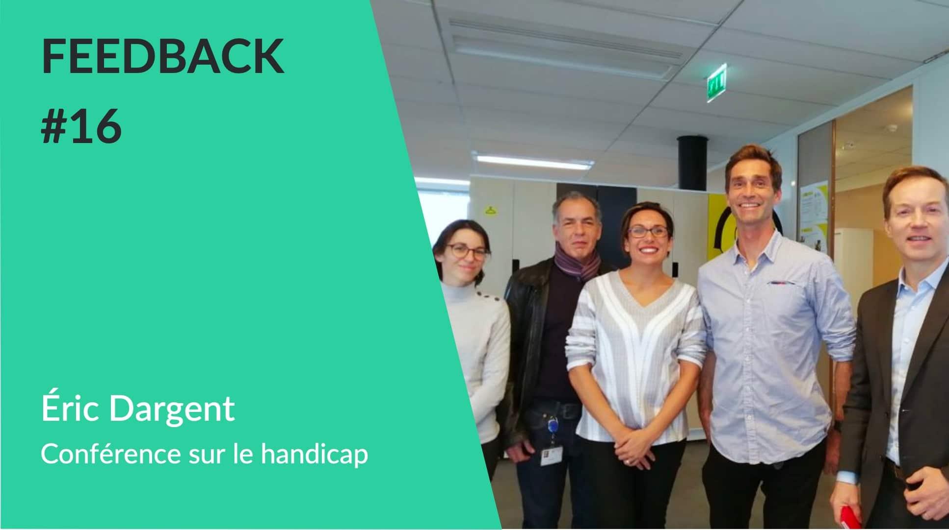 Conférence Handicap Air Liquide avec Cyril Moré - Feedback