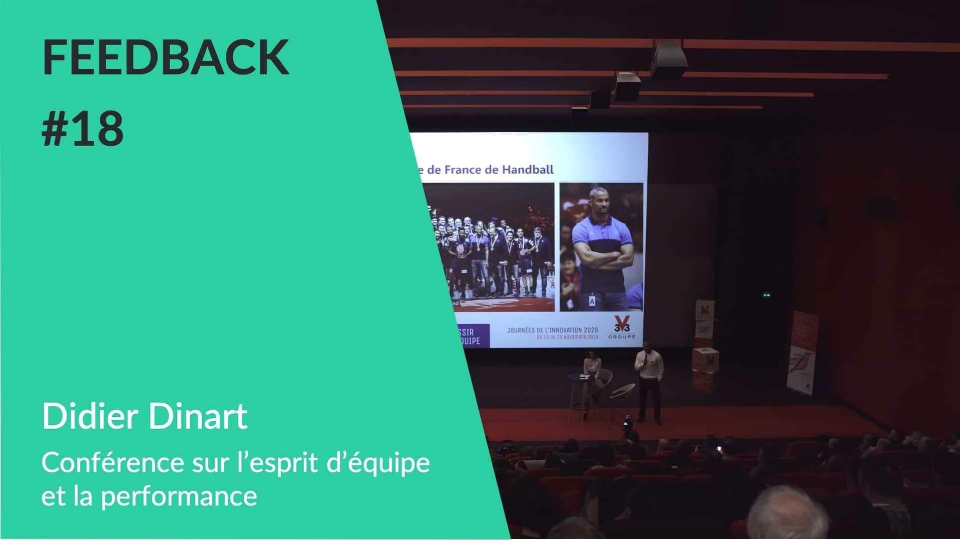 Conférence Didier Dinart esprit équipe WeChamp