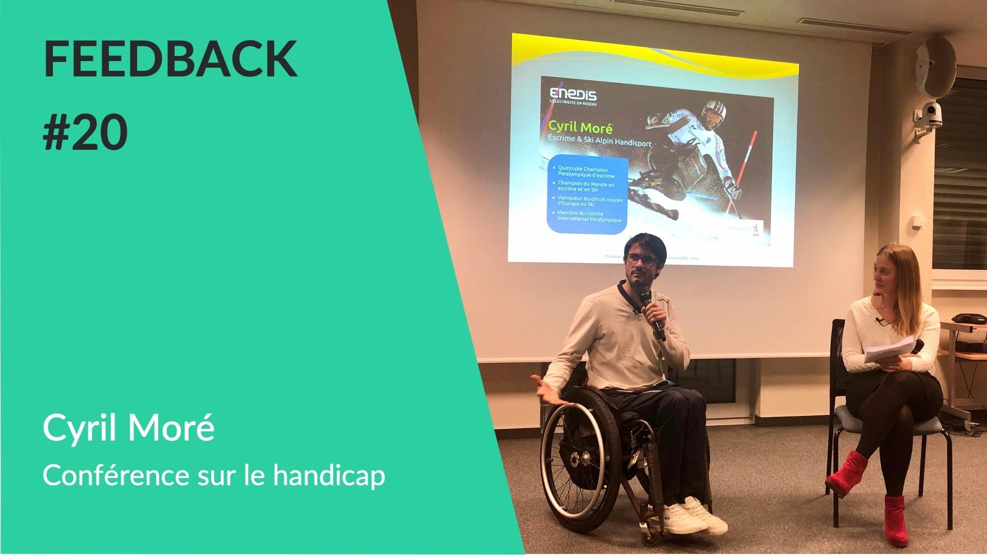 Cyril Moré Conférence handicap WeChamp - Feedback