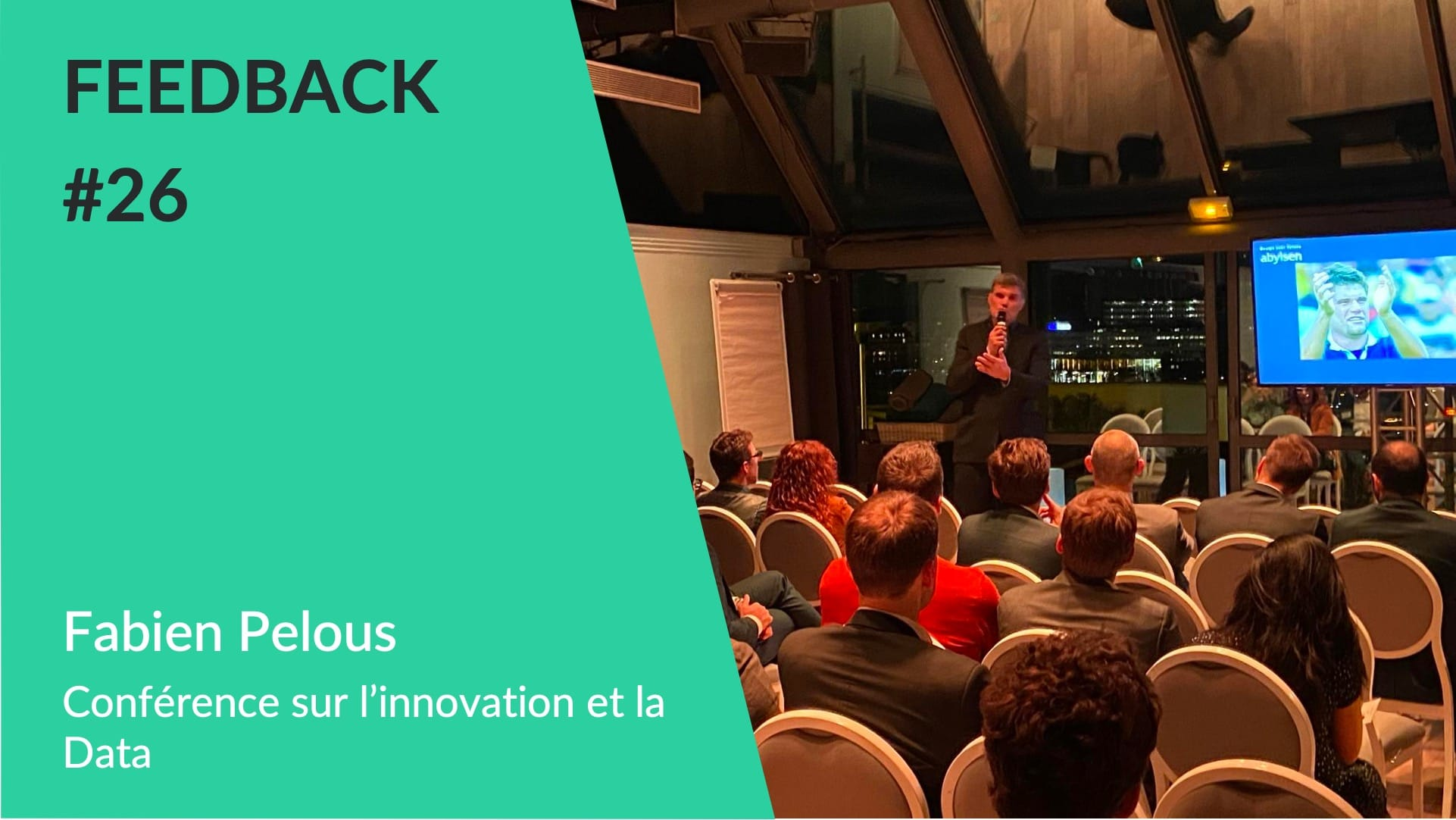 Feedback - Fabien Pelous Conférence Innovation WeChamp