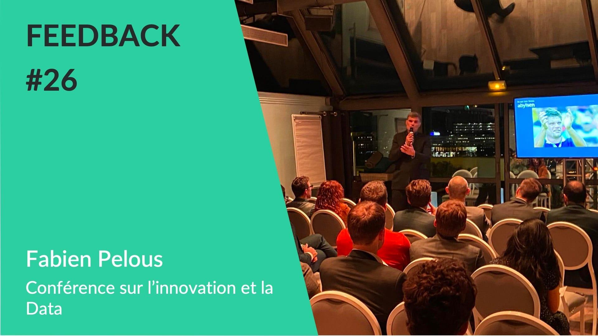 Fabien Pelous Conférence Innovation WeChamp