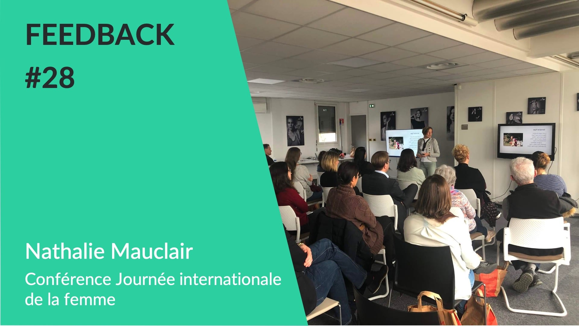 Feedback - Nathalie Mauclair Conférence motivation WeChamp