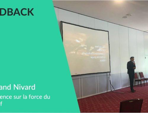 Conférence Bertrand Nivard sur la force du collectif: Feedback client