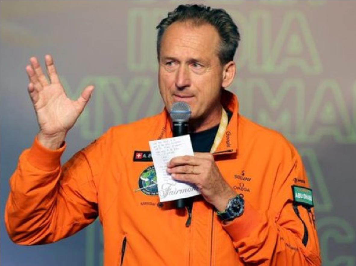 Conférencier Innovation André Borschberg