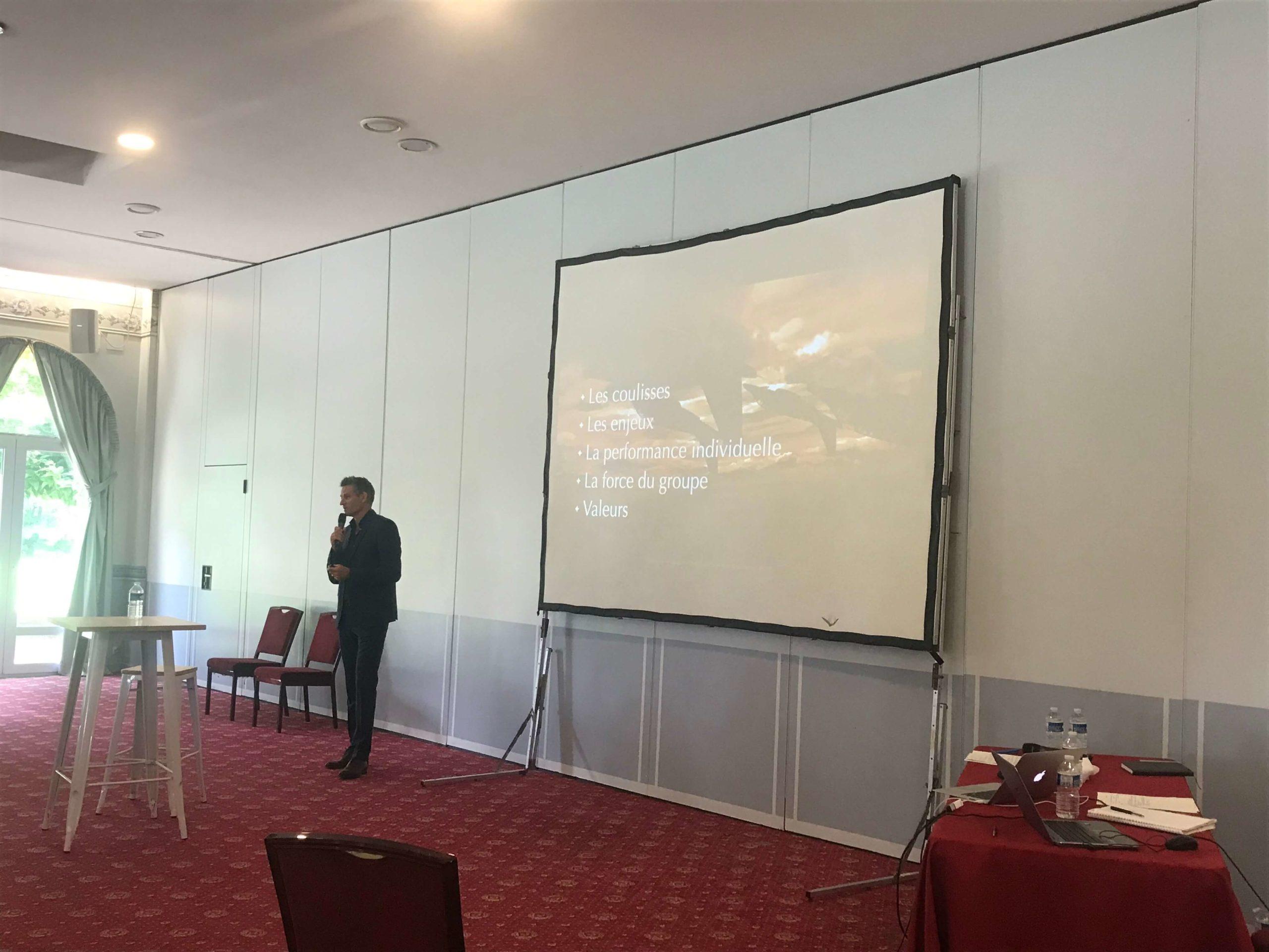 Conférence esprit d'équipe Bertrand Nivard