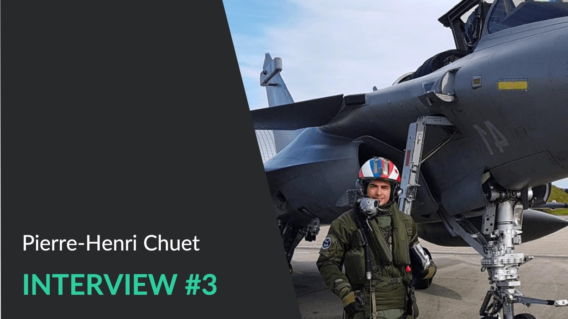 Pierre-Henri - Conférencier WeChamp gestion de crise et ancien pilote de chasse - Interview