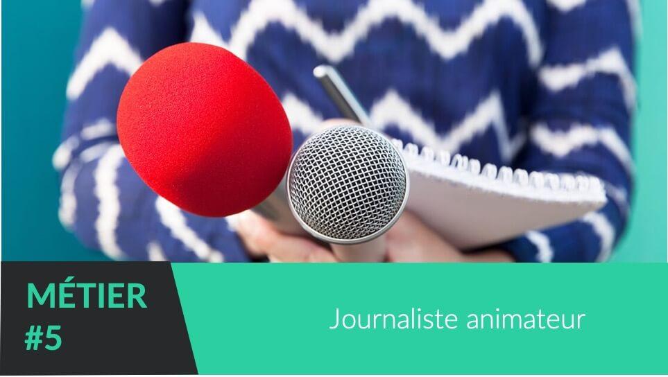 Journaliste Animateur pour marquer votre événement d'entreprise